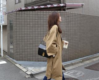 오버핏 볼륨 트렌치 코트(2colors)