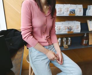 캐시 이지 가디건(4colors)