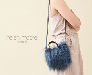 [helenmoore] Shaggy Faux Shearling Micro Bag(3colors)