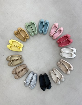 [made prostj] MELLOW Flat shoes (13colors)